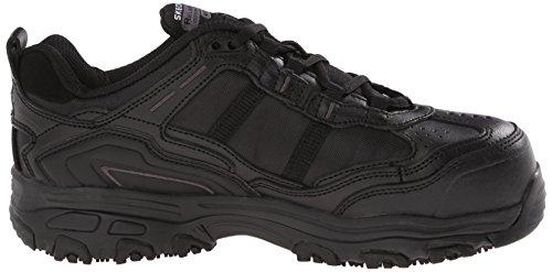 Slip Toe Work Travail Chaussures Rã©Sistant Skechers Composite Black D'Lite Toliand q1EORg