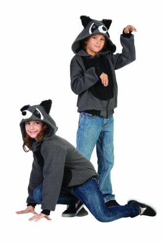 [RG Costumes 'Funsies' Rocky Raccoon Hoodie, Child Small/Size 4-6] (Raccoon Girl Costumes)