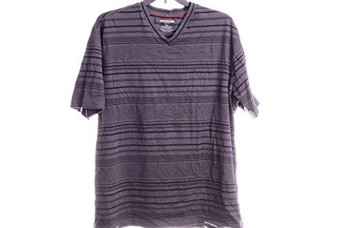 ALFANI BIG AND TALL T-SHIRT, SHORT-SL KETTLE COMBO (Punto Blanco Cotton T-shirt)