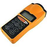 Digital LCD Ultrasonic Tape Laser Point Distance Measure Meter Range Measurer