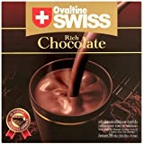 Ovaltine Swiss Rich Chocolate Chocolate Flavoured Ready Mixed Malt Beverage 10pcs x 29.6g. inside