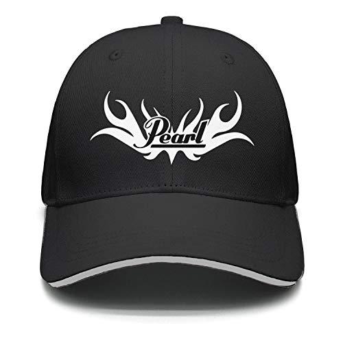 uter ewjrt Adjustable Pearl-Drums-Logo- Baseball Hats Fitted Designer Cap (Drum Apparel Pearl)
