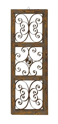 Deco 79 55258 Wood Metal Wall Panel, 14