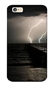 High-quality Durable Protection Case For Iphone 6(sea Dark Night Storm Skyscapes ) For New Year's Day's Gift