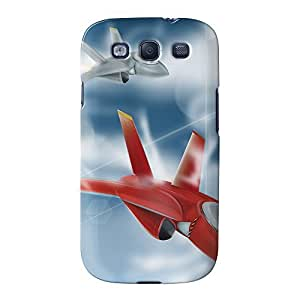 Jet Fighters Full Wrap High Quality 3D Printed Case for Samsung? Galaxy S3 by Nick Greenaway + FREE Crystal Clear Screen Protector
