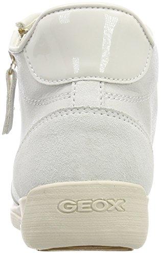 Geox Women's D Myria C Hi-Top Trainers Off-white (Off White C1002) haTiIa4PJ