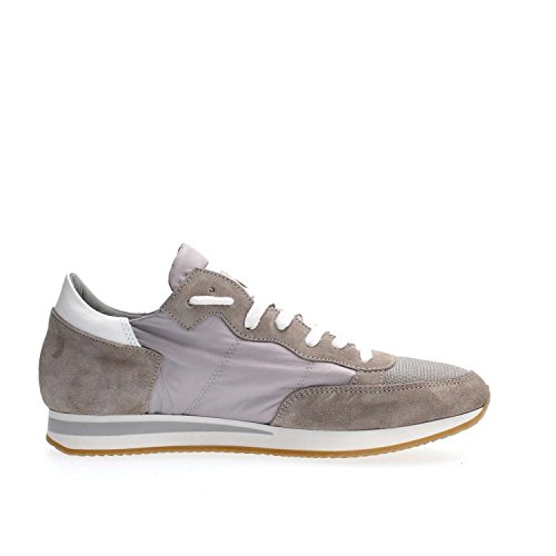 PHILIPPE MODEL PARIS TRLU WX43 TROPEZ GREY SNEAKERS Uomo GREY 40