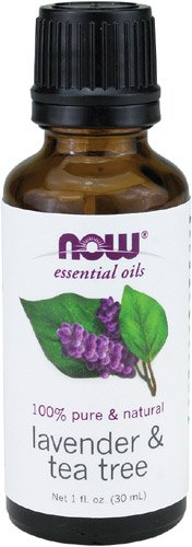 NOW Solutions Lavender & Tea Tree Essential Oil, 1-Ounce