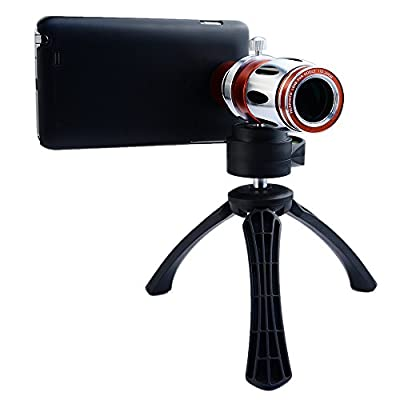 Apexel 17x Optical Zoom Aluminum Telephoto Telescope Phone Camera Lens + High-end Tripod + Case for Samsung Galaxy Note 2 3 4 by SHENZHEN APEXEL TECHNOLOGY CO., LTD - IMPORT FOB Shenzhen (dummy code for wireless)