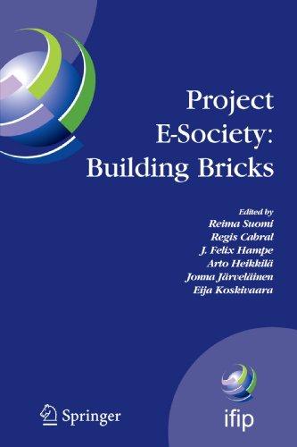 Project E-Society: Building Bricks: 6th IFIP Conference on e-Commerce, e-Business and e-Government (I3E 2006), October 1