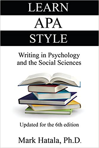 amazon learn apa style writing in psychology and the social