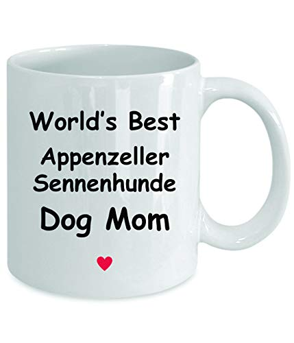 Gift For Appenzeller Sennenhunde Dog Mom - World's Best - Fun Novelty Gift Idea Coffee Tea Cup Funny Presents Birthday Christmas Anniversary Thank You Appreciation 11oz White Mug 2