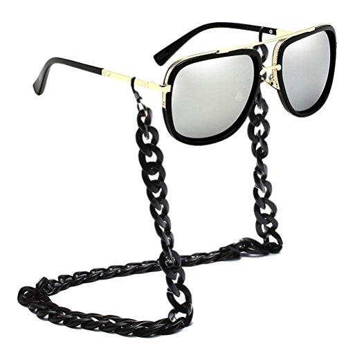 les Activités Lunettes Chain Pour Carré Air Soleil Gardez Des Allumées De Cordon Zhuhaitf Lunettes de Sunglasses de Courroie Plein des Cadre cou Cords silver de Hommes Lunettes Rw5fqgzB