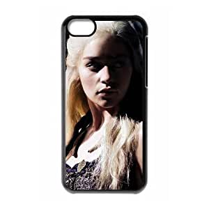 Game of Thrones iPhone 5c Cell Phone Case Black&Phone Accessory STC_220553