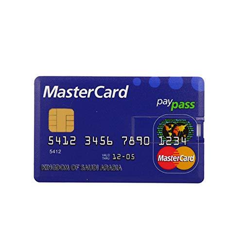 - USB 2.0 Flash Drive,Compact Credit Card USB Flash 8GB 4GB 16GB 64GB 128GB USB 2.0 Flash Stick Pen Drive Memory Stick Pendrive Real Capacity