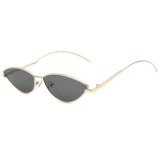 Amazon.com: INS futurista Cateye anteojos De Sol Marco de ...