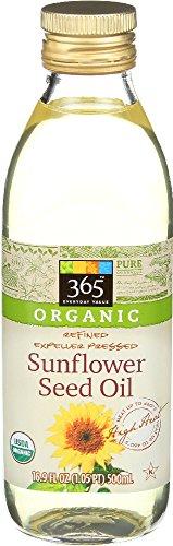 Sunflower Seed Oil (365 Everyday Value, Organic Sunflower Seed Oil, 16.9 Fluid Ounce)