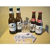 ヒューガルデン ホワイト&ロゼ 専用グラスとコースター付きセット