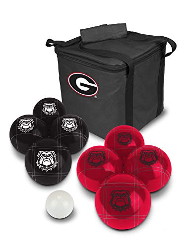 PROLINE NCAA College Georgia Bulldogs Bocce Ball Set by PROLINE (Image #3)