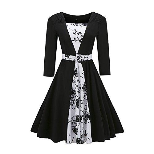 Open Back Boatneck Dress - 9