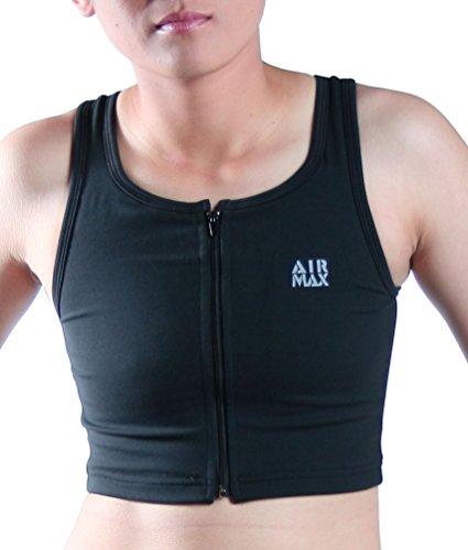 - DOUBLE DESIGN Air Max Zipper Medium Black