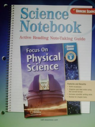 Science Notebook: Active Reading Note-taking Guide, Grade 8 (Focus ...