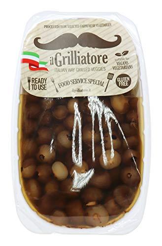 ilGrilliatore- Authentic Gluten Free Italian Borretane Onions in Balsamic Vinegar of Modena 2.20 Pounds