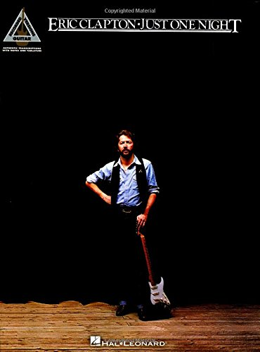 Eric Clapton - Just One Night (Guitar Recorded Versions) [Eric Clapton] (Tapa Blanda)