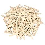 """Hobbyworld, Popsicle Sticks, (2,000pc), 4-1/2"""" Length, Great Bulk Sticks for Crafts"""