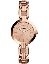 Women's Kerrigan Quartz Stainless Steel Dress Watch, Color: Rose Gold (Model: BQ3206)