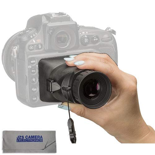 Hoodman H32MB HoodLoupe Outdoor Loupe for 3.2'' LCD Screens with LCD Cleaning Cloth Kit by Hoodman