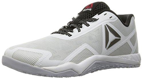 Reebok Women's Ros Workout TR 2-0 Cross-Trainer Shoe, White/Cloud Grey/Black/Pewter, 9.5 M US