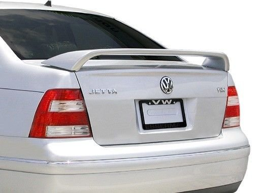 JSP Painted Rear Wing Spoiler Compatible with 1999-2005 Volkswagen Jetta LY3D - G2 Tornado Red Custom Style 339188