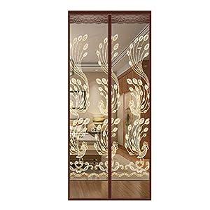 HaGa-Welt.de - Zanzariera magnetica per porta, senza fori, per balcone, soggiorno, camera dei bambini, dimensioni: 100 x… 18 spesavip