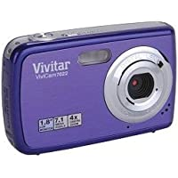 Vivitar Vivicam V7022 7.1MP HD Digital Camera Grape Purple