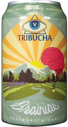 Brainiac Tribucha Kombucha 12 Pack