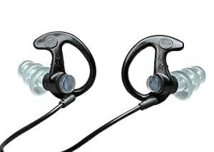 Ear Pro By Surefire 5 Sonic Defender Ear Plugs (25-Pair) Black, Medium