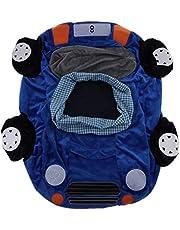 B Blesiya Cute Car Children Seat Sofa Cover Kids Furniture Armchair Baby Chair Stuff Toy Bean Bag Home Playroom Decor