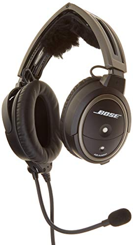 - Bose A20 Aviation Headset (Aircraft-powered w/Bluetooth, Electret mic, Straight cord, 6-pin plug) (Discontinued by Manufacturer)