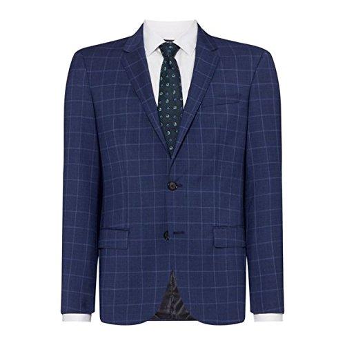 [フューゴ] メンズ ジャケット&ブルゾン Henry Slim Fit Check Two-piece Suit Jack [並行輸入品] B07F35PPFZ 36 Regular