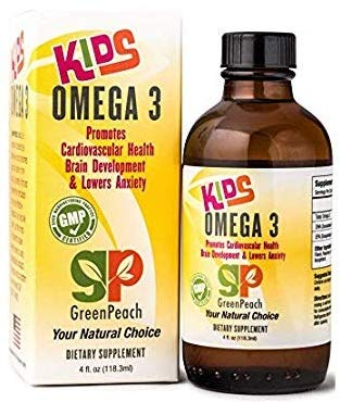 Amazon Com Omega 3 Fish Oil For Kids Natural Epa Dha Supplements
