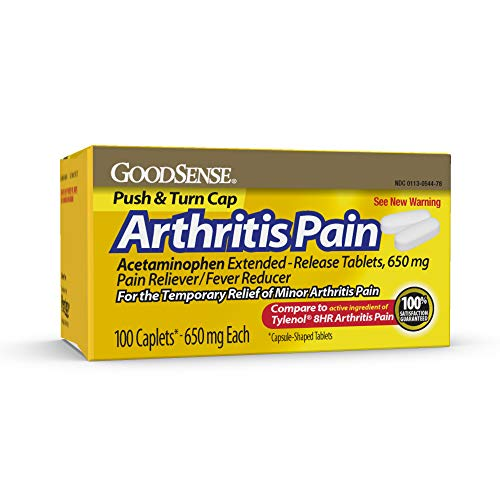 Goodsense Arthritis Pain, Extended, Release Tablets, 100 Count