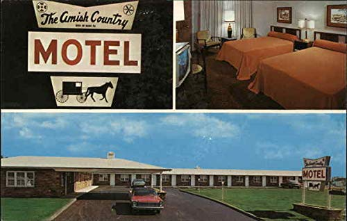 Amish Country Motel Bird-in-Hand, Pennsylvania Original Vintage Postcard