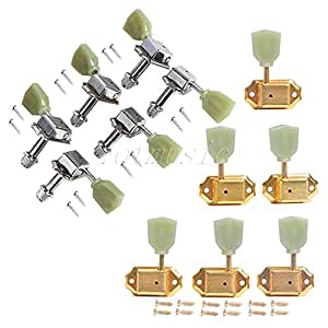 6l6r vintage guitar tuning machine pegs for electric guitar replacement parts. Black Bedroom Furniture Sets. Home Design Ideas