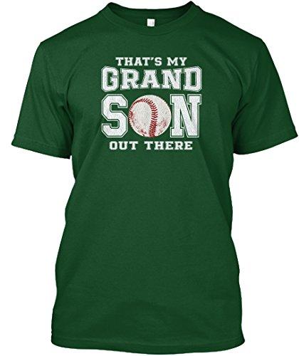 Teespring Unisex My Baseball Grandson Hanes Tagless T-Shirt XXX-Large Deep Forest