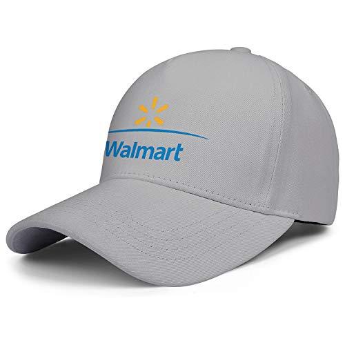(Men Hat Walmart Foundation Logo Graduation Cap Cotton Classic Solid Color)