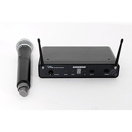 (Samson Concert 88 Wireless Handheld System with Q7 Handheld Dynamic Microphone Level 3 Band C 888365979397)