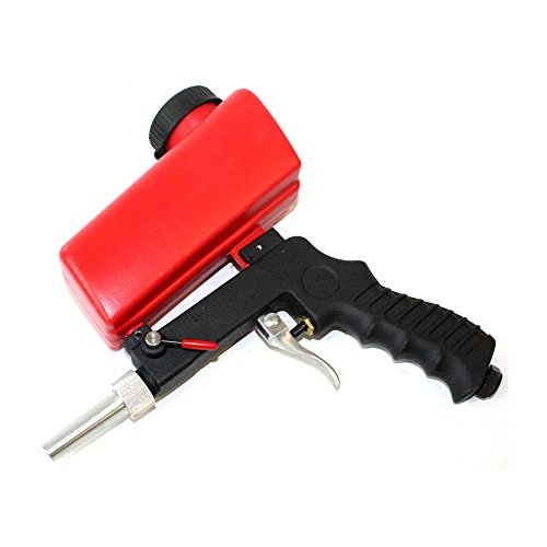 Care4U , Sandblasting Gun Gravity Feed Sandblast Gun Sandblast Gun Suitable for Iron, Glass & Mirror Etching, Steel, and All Types of Metals by Care4U