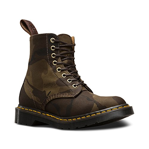 Eye Boot M 8 Mens 4 5 M Tan Martens F D US Dark Hs Dr Page UK Olive RnXSqwF