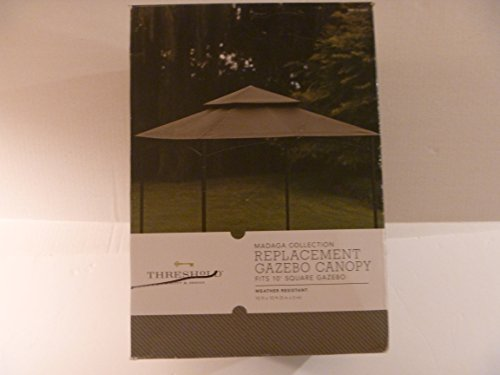 Replacement Gazebo Canopy Madaga Collection 10ft X 10ft X 33 8in Gazebos Patio And Furniture
